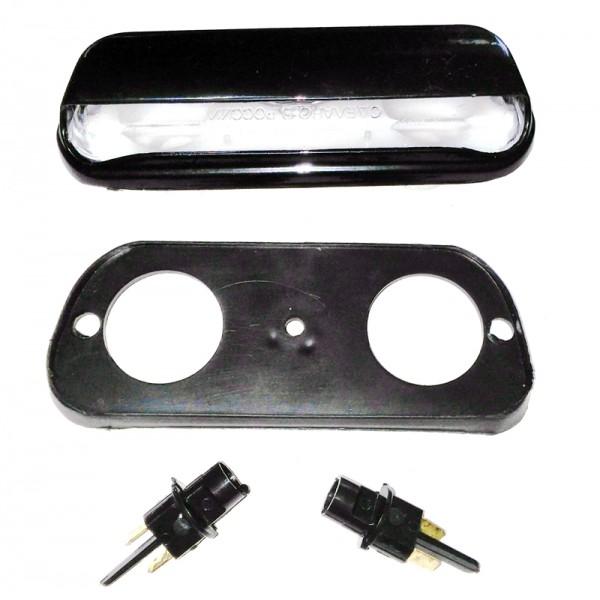 Lada 2101 Ve 124 Plaka Lambası, Siyah